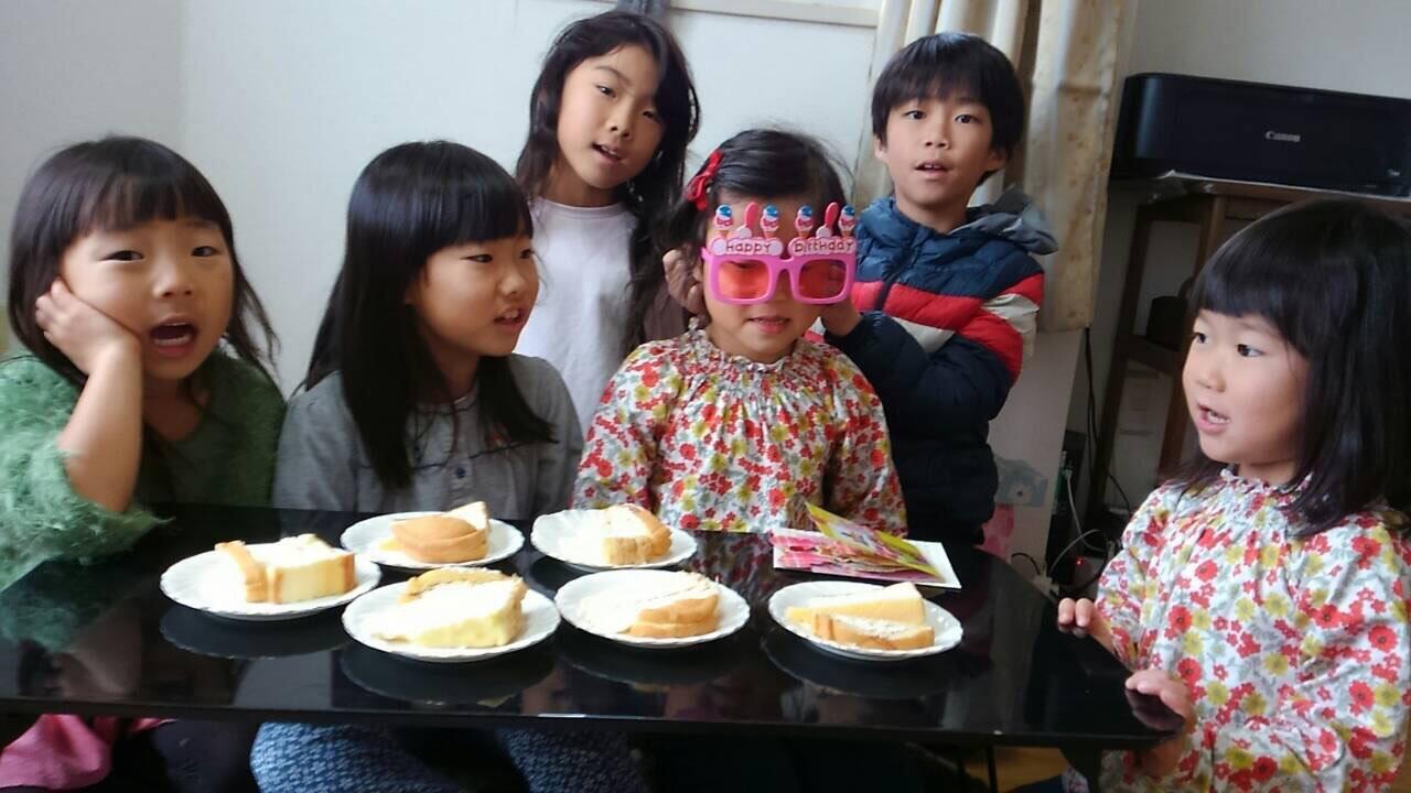 中国語キッズクラス誕生日会